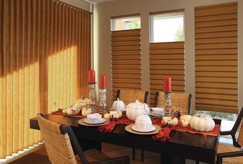 Thanksgiving Vignette Window Shades