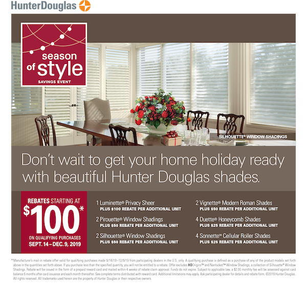 Blinds Sale Event