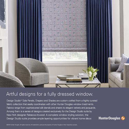 design studio drapery panels